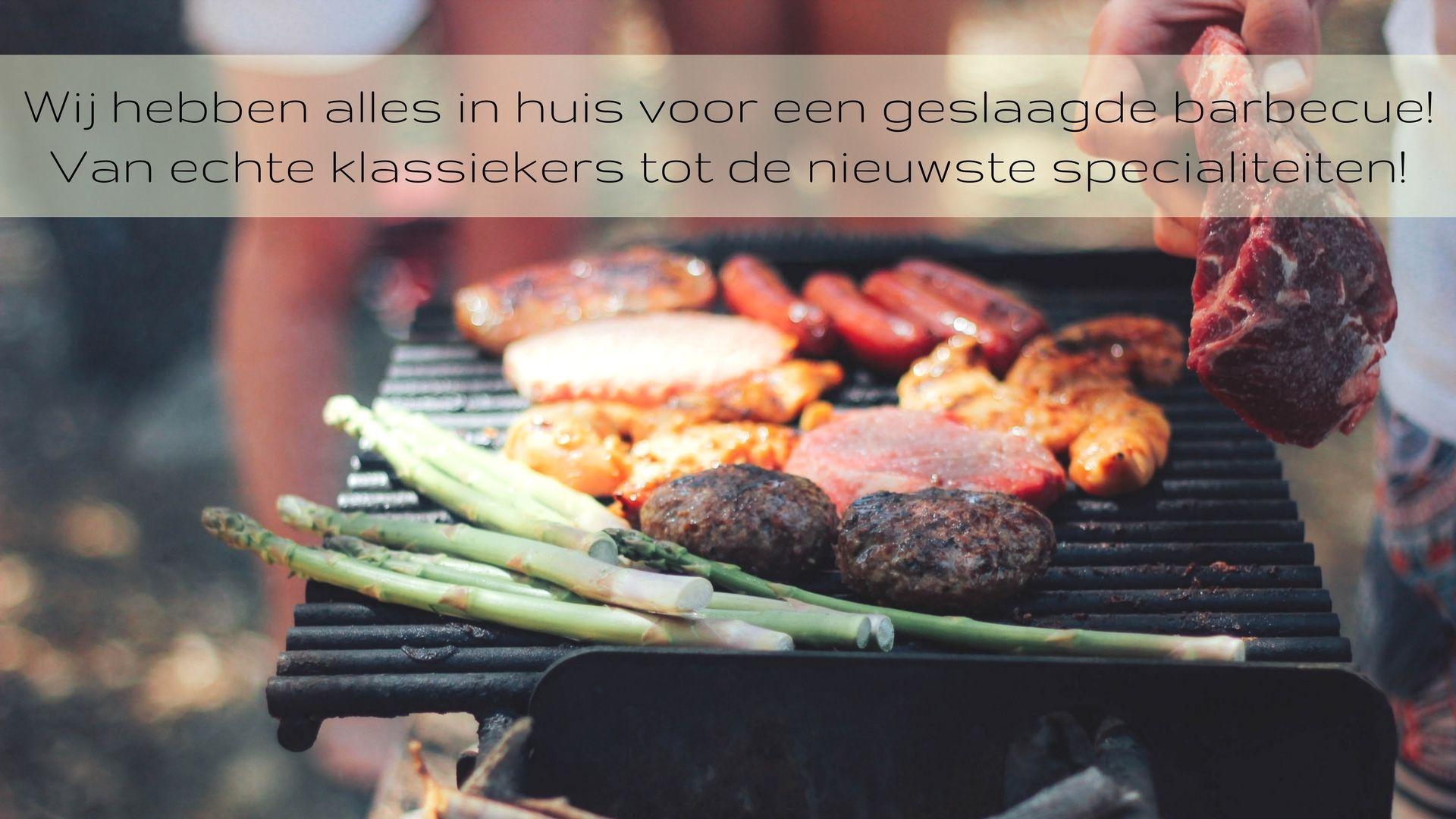 Barbecue Van A Tot Z.Slagerij Reijmer